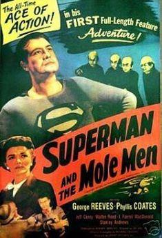 Superman Vintage Movie Poster - Rare New 24x36 Print