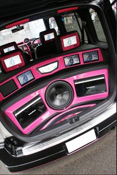 Custom Car Audio, Custom Cars, Car Audio Installation, Car Audio Systems, Car Sounds, Rockford Fosgate, Custom Boxes, Car Accessories, 4x4