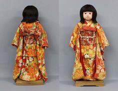 1927 Ichimatsu ningyo Girl Zen Wa Kimono Vintage Japannese Kyoto-Doll RK04   eBay
