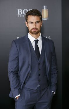 Theo James Sexy Stares Pictures | 14 Theo James Stares So Sexy, You Might Have to Look Away | POPSUGAR Celebrity Photo 8