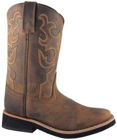 Smoky Mountain Boots Children Boys Pueblo Dark Crazy Horse Leather