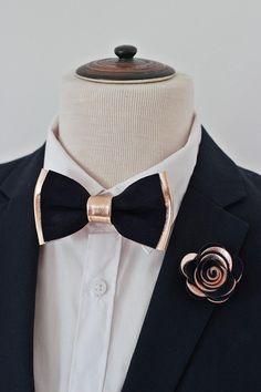 Boys ABC 123 Colorful Clip On Cotton Bow Tie