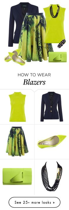 """outfit 4076"" by natalyag on Polyvore featuring Lauren Ralph Lauren, Vanessa Gounden, BCBGeneration, Karen Millen and Perrin"