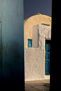 A glance at Santorini