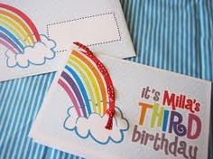 rainbow party invites - Google Search
