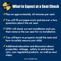 Car Seat Safety what to expect at a seat check