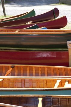 Canoes, Lake Samish, Washington | via Flickr.