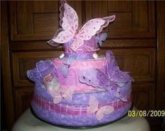 Diaper Cake for Baby Showers