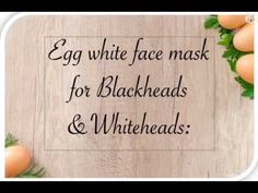 It helps to remove blackheads cleanse skin pores. Helps to shrink pores and tighten the skin pores reduces the chance of black and whiteheads. Egg White Mask, White Face Mask, Homemade Face Pack, Homemade Mask, Pore Mask, Blackhead Mask, Egg Face Mask, Cleansing Face Mask, Face Mask For Blackheads