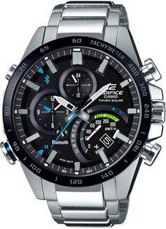 G-Shock Men s Solar Edifice Stainless Steel Bracelet Watch 48mm  Chronograph 1f98a937e8