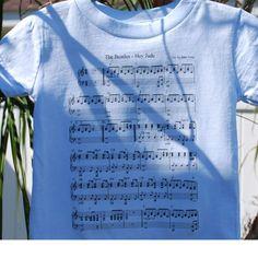 Hey Jude sheet music! Etsy, LittlePatriot, $16.99