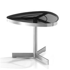 SUNGLASS Triangle Side Table by Kenkoon Studio for Jane Hamley Wells - Tables - Jane Hamley Wells