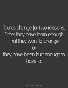 Taurus Facts (with grammatical errors)
