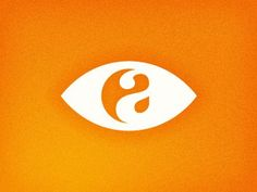 logo research _ incorporating letters along with an eye.