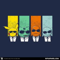 Reservoir Mons T-Shirt - Pokemon T-Shirt is $11 today at Ript!