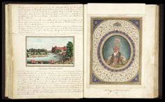 A portrait of Bahadur Shah Zafar in the Delhi Book-To act as a record of his love, between 1842 and 1844, Metcalfe commissioned The Delhie Book, a series of images of the monuments, ruins, palaces and shrines of the city from a brilliant Delhi artist named Mazhar Ali Khan. He later had the images bound into an album, and wrote an accompanying text which he sent to his daughter Emily to act as her guide to the city, as she headed from school in England to join her father in the Mughal…