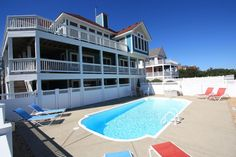 Pop's Place | Corolla Rentals | Village Realty. 5 bedrooms, pool, hot tub. http://www.villagerealtyobx.com/outer-banks-vacation-rentals/pops-place