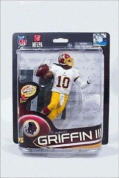 Robert Griffin III RG3 Washington Redskins McFarlane Action Figure NIB NFL c2b6d688d
