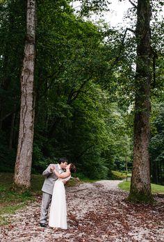 Brides: A Relaxed Mountain Wedding In Andrews, North Carolina| Rustic Weddings | Real Weddings | Brides.com | Real Brides
