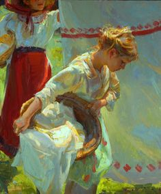 Russian Paintings Gallery - Personal Page of Gerhartz Daniel F. Russian Painting, Russian Art, Painting Gallery, Art Gallery, Alphonse Mucha, John Singer Sargent, Quiz, Painting People, Buy Paintings