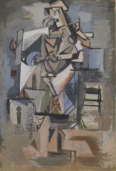 Untitled (Cubist Figure) - Arshile Gorky