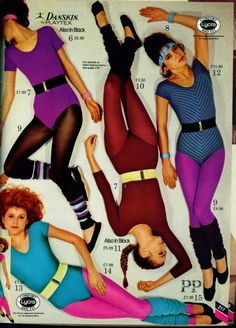 I wish this was still acceptable workout wear!