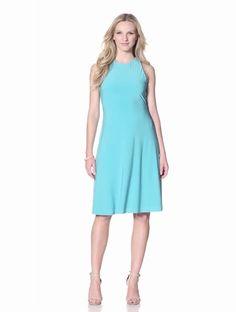 Amazon.com: Isaac Mizrahi New York Women's Julia Racerback Dress: Clothing