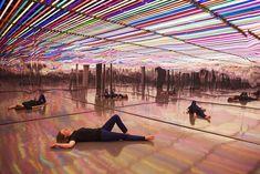 Light Installation by Liz West