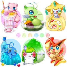 Find images and videos about sweet, kawaii and pokemon on We Heart It - the app to get lost in what you love. Pokemon Mew, Fan Art Pokemon, Pokemon Pins, Pikachu, Baby Pokemon, Pokemon Stuff, Cute Pokemon Pictures, Cute Pictures, Mythical Pokemon