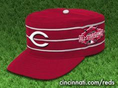 89994870f Concept  2015 Cincinnati Reds All-Star Game hat (optional). Cincinnati Reds