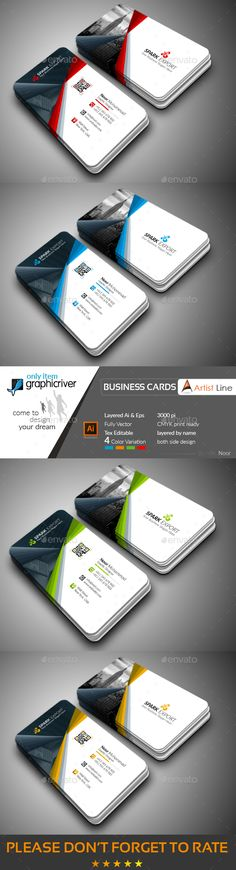 Creative business card card templates business cards and ai modern business card cheaphphosting Choice Image