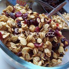 Fotografie receptu: Domácí medové müsli