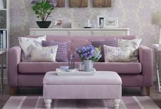 Home designs decorating before and after design room design house room design interior design 2012 home design Living Room Cushions, Living Room Furniture, Living Room Decor, Home Room Design, Living Room Designs, House Design, Interior Design 2017, Damask Decor, Purple Rooms