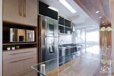 Cozinha Integrada Americana, projeto do escritório de arquitetura Luni Arquitetura, Av Rouxinol 1041, Moema São Paulo, contato para projetos: (11) 4106-7656