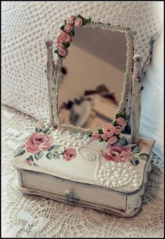 jewel boxes - my shabby white home