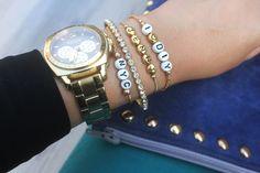 I Spy DIY: MY DIY   Alphabet Bracelet