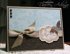 Inspired Bliss using Stampin Up Bliss