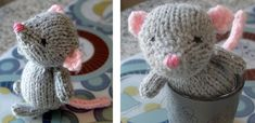 Choose this Super Cute Marisol Knitted Mouse as your next knitting project. In case you would like to get this FREE knitting pattern, continue NOW...
