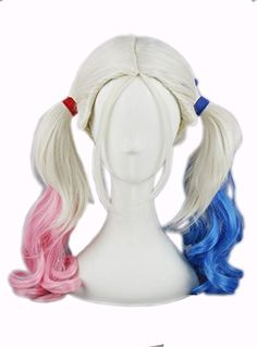 Quibine Perruque Anime Cosplay Wigs longue ondulée bleue ... https://www.amazon.fr/dp/B01GV0O3AK/ref=cm_sw_r_pi_dp_WtGyxbB7G6TXR