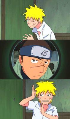 <3 Naruto & Iruka