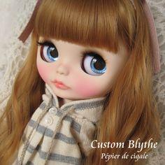 *カスタムブライス*Custom Blythe*Ppier de cigale_画像1