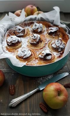 Rezept zum Advent- Zeit für einen Bratapfel- Käsekuchen