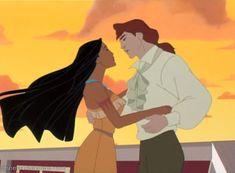 Pocahontas 2 - Between Two Worlds [Japanese] Disney Pocahontas, Princess Pocahontas, Disney Couples, Disney Girls, Equestria Girls, Powerpuff Girls, Disney Magic, Disney Art, Disney Pixar