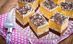 Ciasto z kremem waniliowym i orzechami z dodatkiem mlecznej czekolady Tiramisu, Cheesecake, Food And Drink, Ethnic Recipes, Cheesecakes, Tiramisu Cake, Cherry Cheesecake Shooters