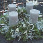 WeihnachtsZauber 2016 | Adventkranz Obelisk, Pillar Candles, Organic Farming, Home And Garden, Plants, Xmas, Gifts, Candles