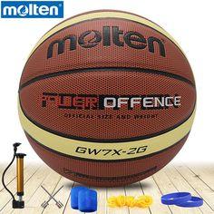 Beige Orange Molten Basketball Gr/ö/ße 5