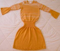 Vestido feito na maquina de tricô. https://www.facebook.com/karlinhaela?ref=hl