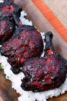 Char Siu Duck Legs (Chinese Barbecue) from @girlichef