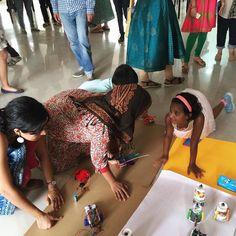 At the arduino summer school expo. #arduino #summerschool #artscienceblr #teentech #finalday by artscienceblr