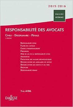 Responsabilité des avocats